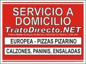 Servicio a Domicilio Letrero Gratis Trato Directo