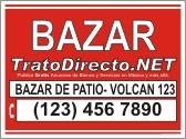Bazar Letrero Gratis Trato Directo