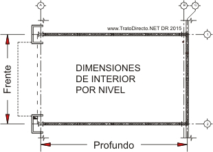 Planta Local Comercial Interior Arquitectos Trato Directo