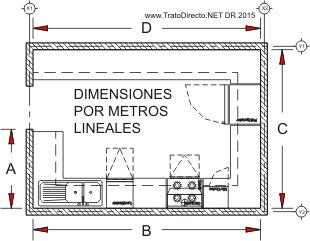 Planta Muebles Arquitectos Trato Directo
